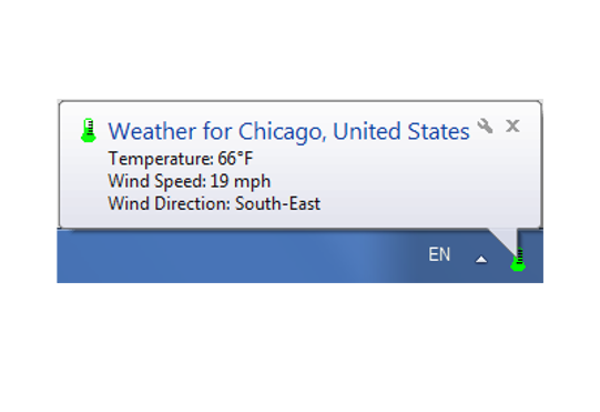 e-weather interface