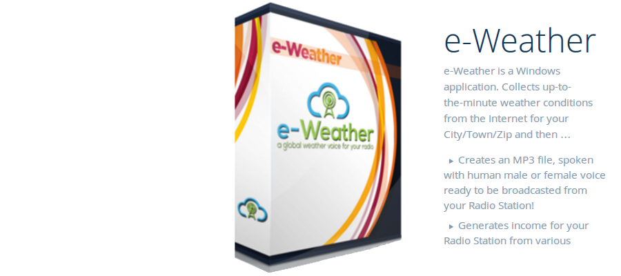 spoken weather box
